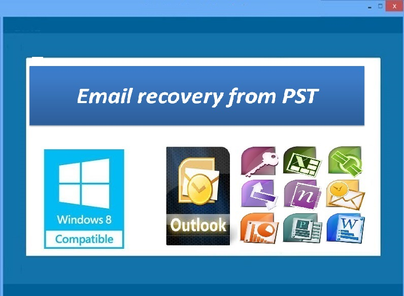 Email Recovery from PST 3.0.0.7